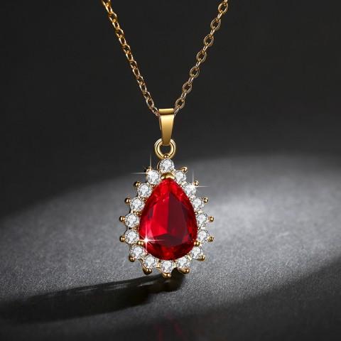 Eksklusif: satu set perhiasan Ratu Kate 3in1 berlapis emas 18k