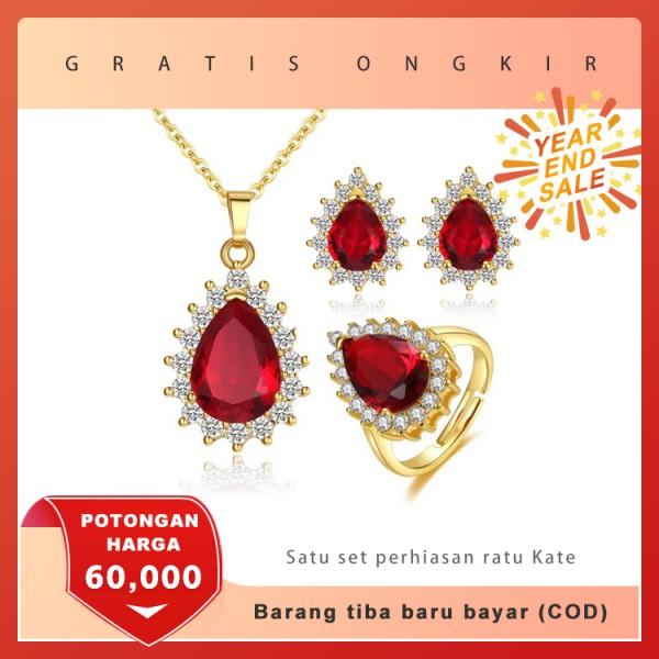 Eksklusif: satu set perhiasan Ratu Kate ..